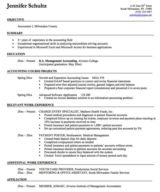 Warehouse Resume Sample -    resumesdesign warehouse - resume format accountant