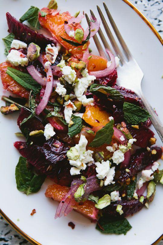 Blood Orange Salad / Leela Cyd Ross