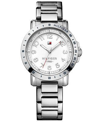 Tommy Hilfiger Women's Stainless Steel Bracelet Watch 38mm 1781397 - Women's Watches - Jewelry & Watches - Macy's