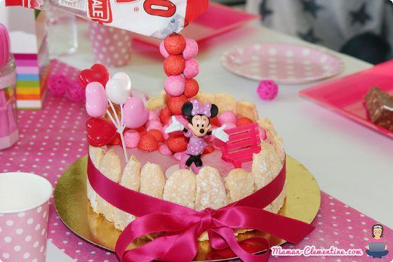 Le blog de maman Clémentine: 4ème anniversaire de Mam'zelle Lulu [thème Minnie]