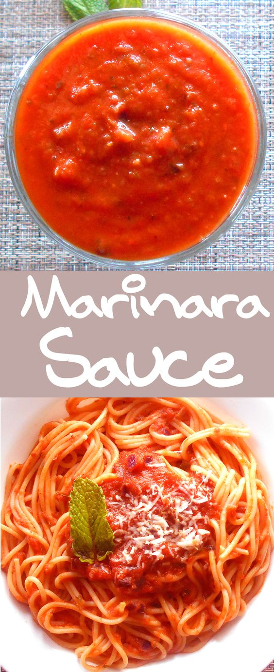 Tomato marinara pasta recipes
