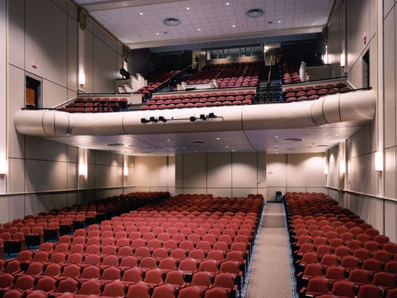 Holly Smith Architects Columbia Theatre For The Performing Arts