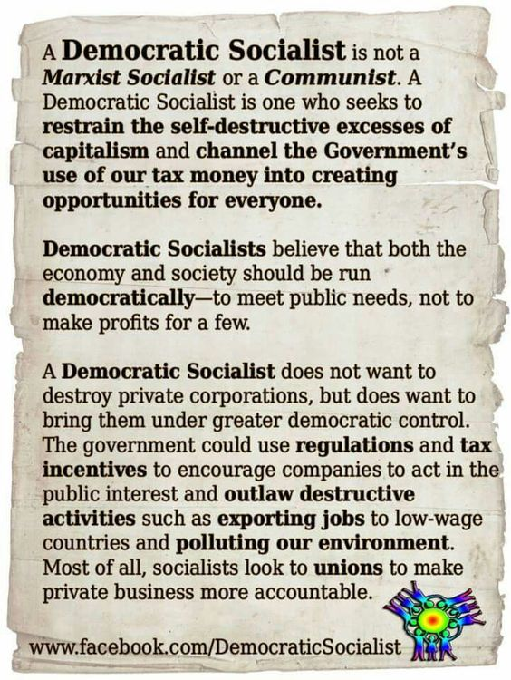 Democratic socialism defined- for those who speak without ...