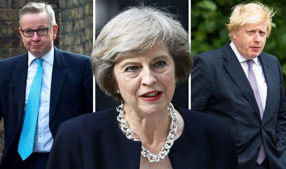 Theresa May faces Tory REBELLION as Boris Johnson leads group demanding hard Brexit