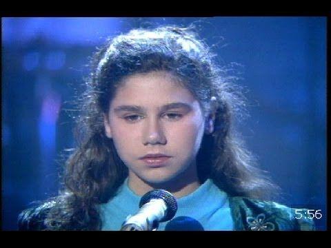 Tamara Con Doce Años Canta Mi Corazón 1996 Youtube Mejores Canciones Cantantes Acordes De Guitarra