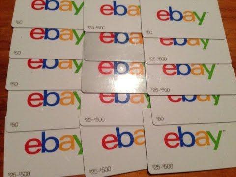 Ebay Coupon Code Ebay Gift Card Code In 2020 Ebay Gift Gift Card Giveaway Gift Card Deals