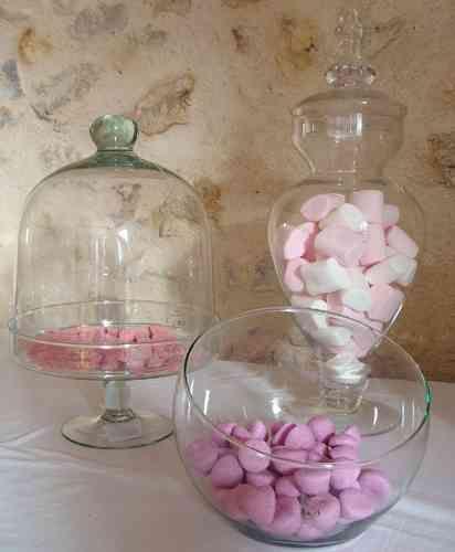 coupe vase boule inclin tartifumed co pr sentation de bonbons et sucreries dans des. Black Bedroom Furniture Sets. Home Design Ideas