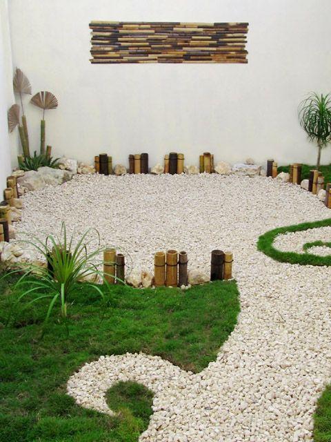 18 Jardines pequenos con pasto