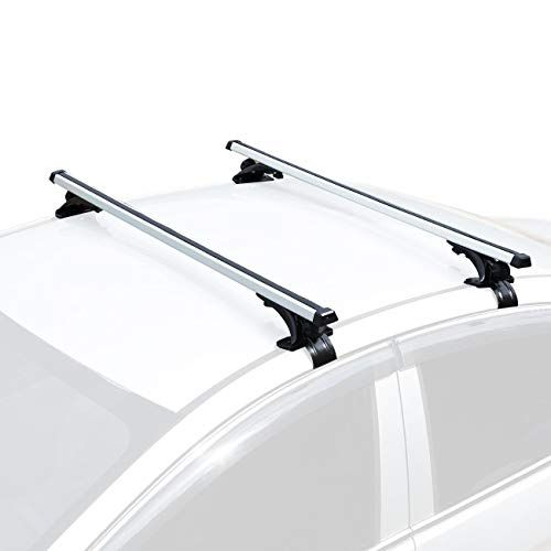 Auxmart 48 Universal Bare Roof Mounted Roof Rack Cross Bar Set