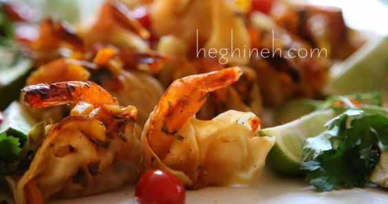 Shrimp Dumplings Recipe - Shrimp Manti