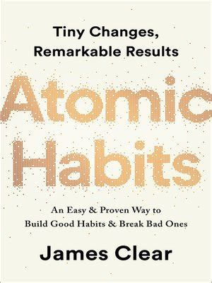 Atomic Habits - An easy and proven way to build good habits and break bad ones. Best Self-Help books