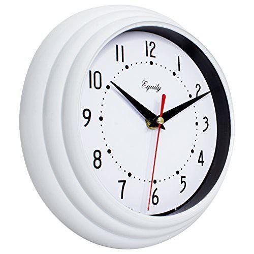 Equity By La Crosse 25013 8 Inch White Clock New Equitybylacrosse Wall Clock Modern Clock Wall Decor Wall Clock