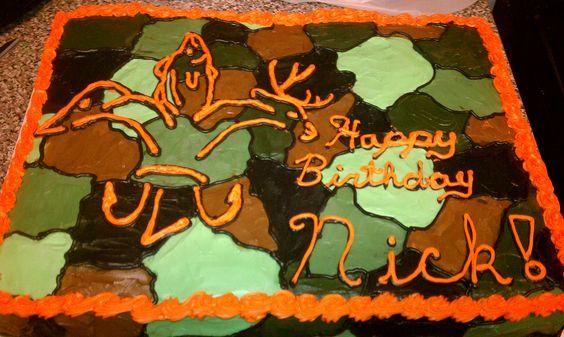 sportsman's fleur cake