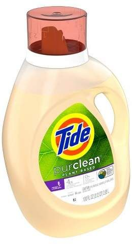 Tide Purclean Honey Lavender Laundry Detergents 100oz Lavender