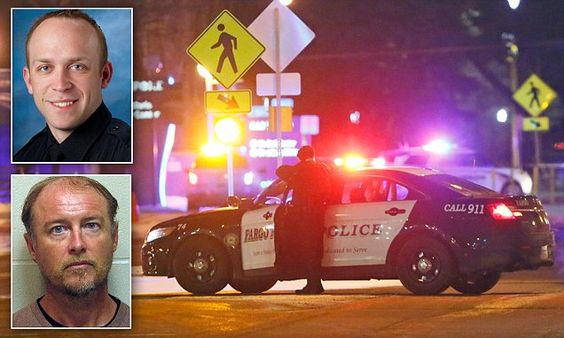 Fargo cop killed after he is shot during domestic disturbance