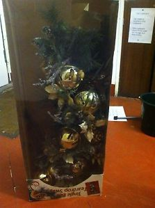 swags wreaths christmas | Details about Christmas Decoration Wreath 'Jingle Bell Teardrop Swag ...
