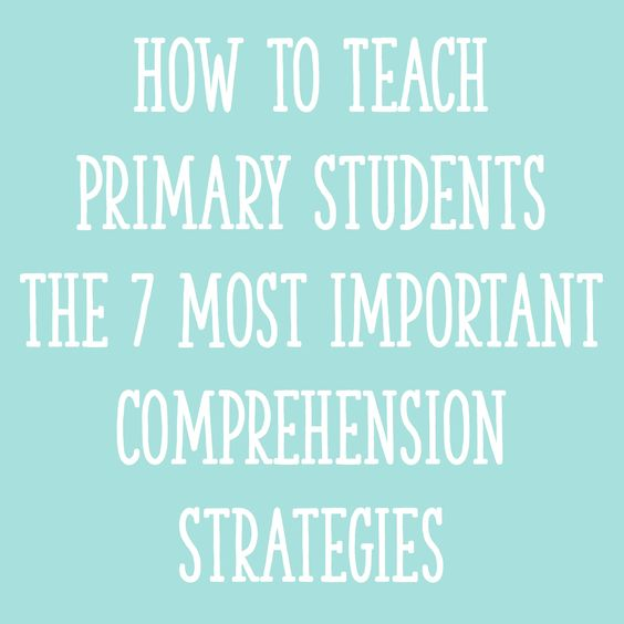 """For ideas about how to teach each of these comprehension strategies in a """"primary-friendly"""" way, keep reading!"""