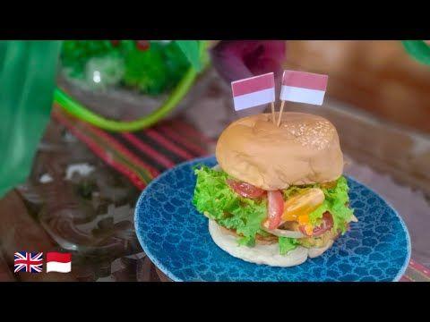 Prawns Cheese Egg Burger Burger Udang Telur Keju Youtube