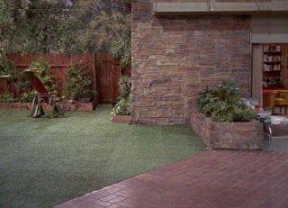 The Brady Bunch backyard: