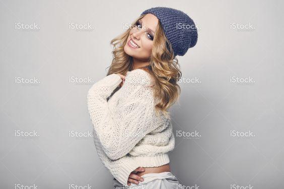 Portrait of beautiful blond woman stock photo 79841817 - iStock