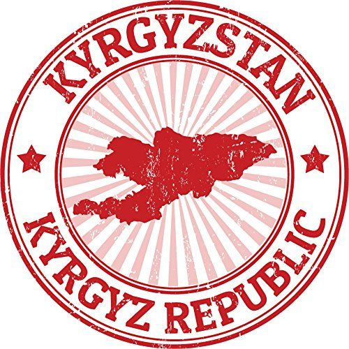 Kyrgyzstan Map Grunge Rubber Stamp Home Decal Vinyl Sticker 12 X 12 Visit The Image Link More Details This Is An Affi Vinyl Sticker Window Stickers Stamp