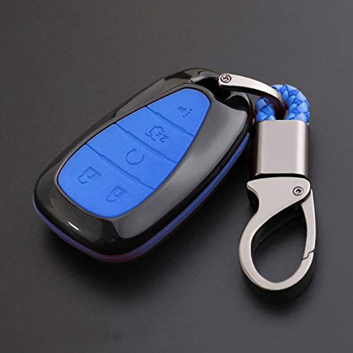 Ontto For Chevrolet Key Fob Cover Case Key Shell Key Chain Key
