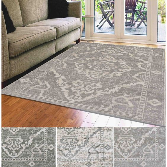 Admire Home Living Catherine Medallion Area Rug 7 10 X 10