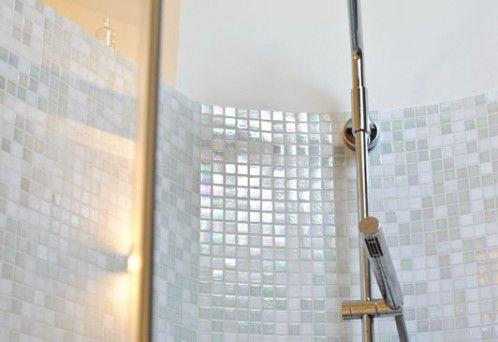 Risultati immagini per mosaico grigio chiaro perlato