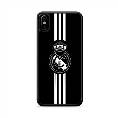 Real Madrid Logo Wallpaper Iphone X Case Caserisa Real Madrid Logo Wallpapers Real Madrid Logo Samsung Wallpaper