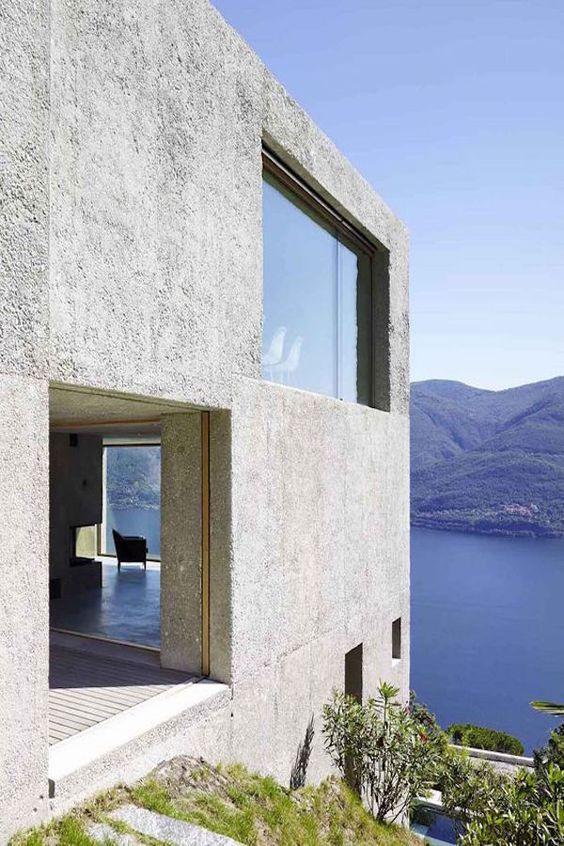Lago Maggiore Villa by Wespi de Meuron Romeo Architects