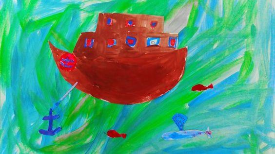 Kreatívne maľovanie s deťmi / jelloudesign / SAShE.sk www.grada.sk