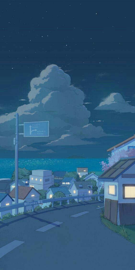 Pin Oleh Rubina Di Art Wallpaper Pemandangan Anime Wallpaper Anime Wallpaper Anime Lucu