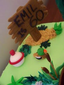 Claudine: Hunting and Fishing Cake