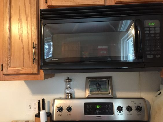 Love the stove and microwave