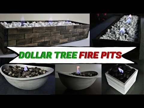 Did You Think A Glamorous Fire Pit Was Too Expensive Of A Luxury Item For Your Outdoor Patio Table We In 2020 Diy Dollar Tree Decor Tabletop Firepit Dollar Tree Decor