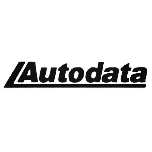 Autodata S Decal Sticker Custom Car Decals Logo Sticker Stickers