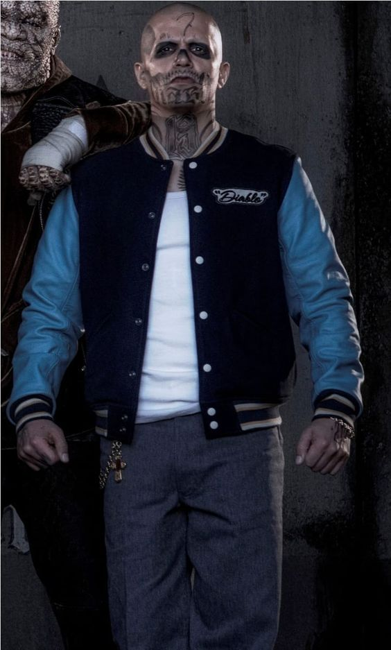 Brown Letterman Jacket