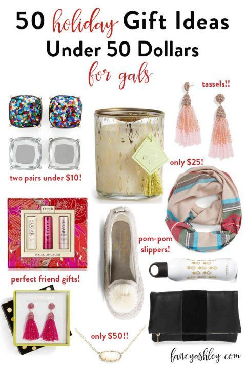Fifty Gifts For Women Under 50 Gifts For Women Holiday Gift Guide Women Gifts