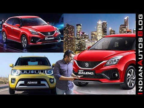 2020 Suzuki Baleno Ignis Facelift Revealed Changes Explained