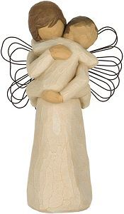 "Aww x 2... Willow Tree ""Angel's Embrace"". Mommy and her little boy. A must-have. $19.99"