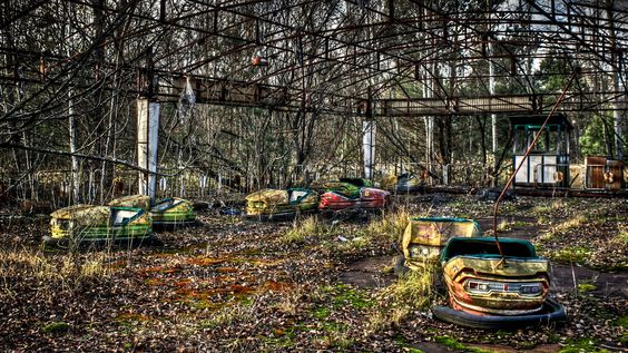 Pripyat: Bumper Cars by Barry Mangham on 500px