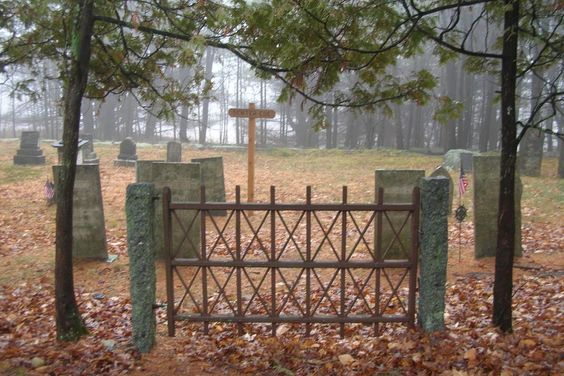 Cemetery Gates | Town of Center Harbor NH
