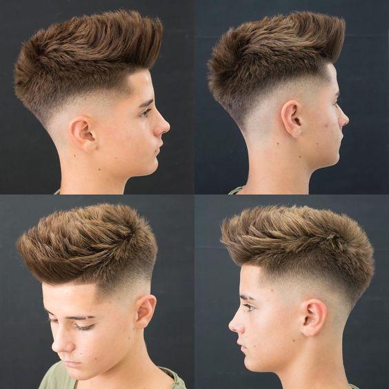 Gaya Rambut pria pendek