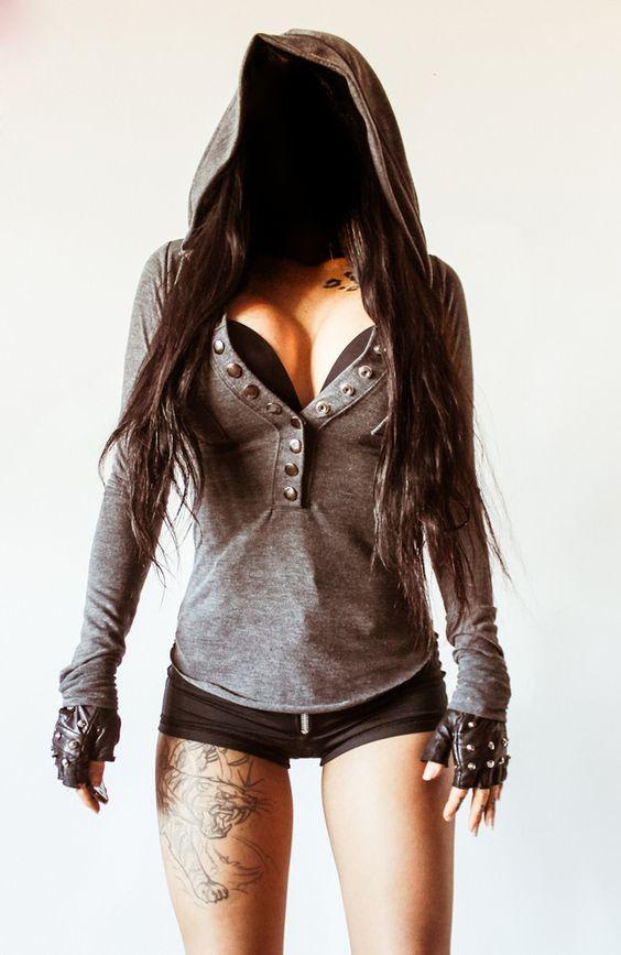 TOXIC VISION grey military sweater | Toxic Vision