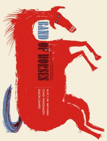 Band of Horses. Mark McDevitt de Methane Studios