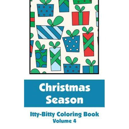 Christmas Season Itty-Bitty Coloring Book (Volume 4)