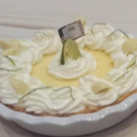 Sittin' on the Sandbar Key Lime Pie..winner of The National Pie Championship.