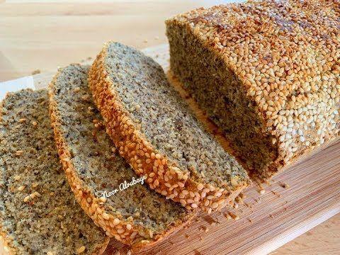 افضل واطيب خبز توست كيتو بدون جبن واسباغول Best Soda Keto Bread مرضى السكري حساسية القمح الغلوتين Youtube Food Desserts Keto Bread