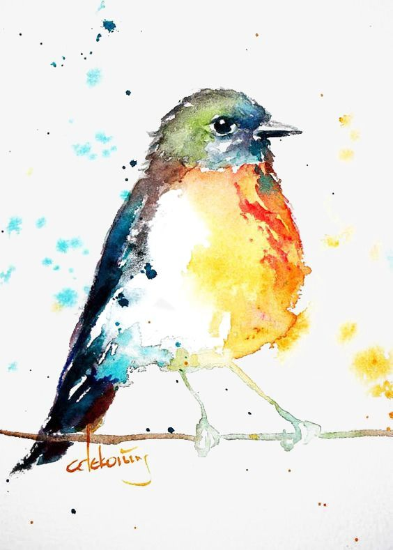 Birds Watercolor Bird Bird Art Bird Artwork