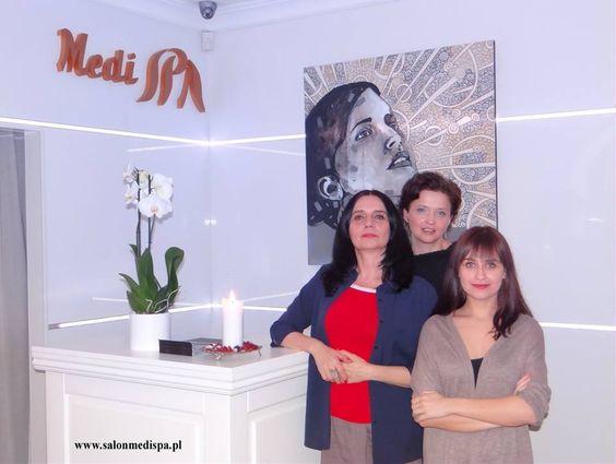 Olga Boczar, Izabella Jarska i Magdalena Woźniak- Salon Medi SPA Warszawa Sadyba